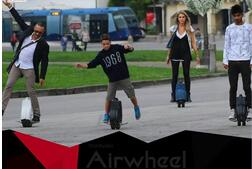 At the event filled with fun and amusement, Airwheel will bring all its previous products and a new released M3, self-balancing air board to join into this activity.