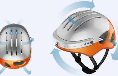 Airwheel C5 smart helmets function introduction