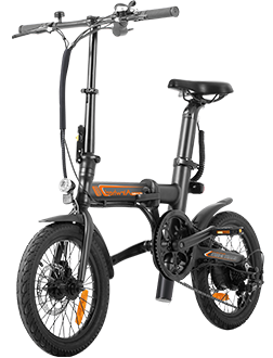R5 smart electric bike with multiple ride modes, swappable battery design, collapsible frame and APP speed setting.